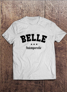 Belle T-shirt Design