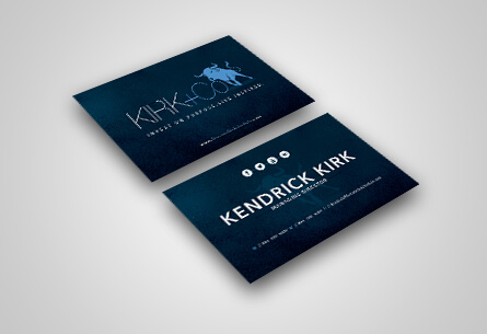 Kendrick Business Card design