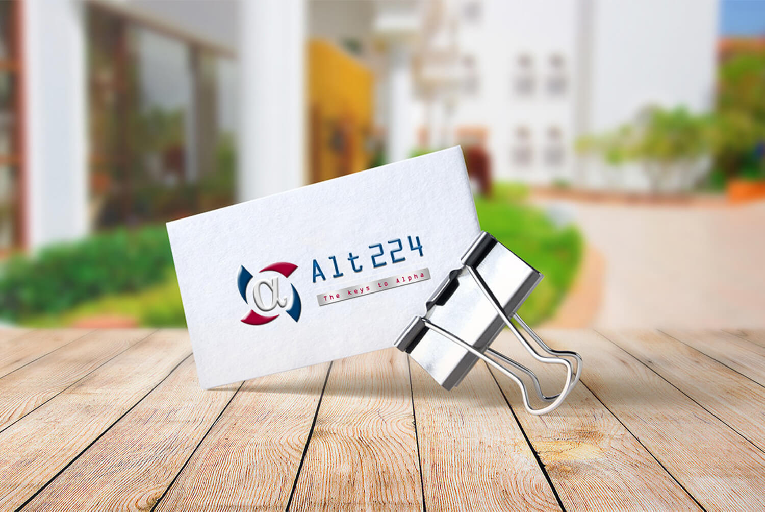 Alt224 Business Card Design