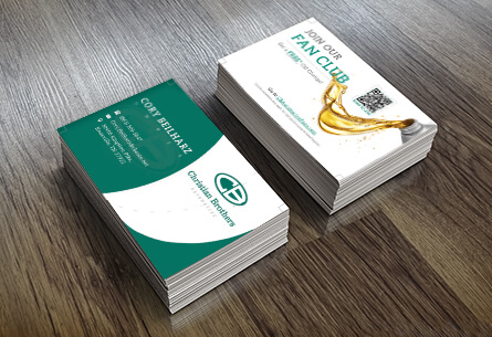 Christian Brothers Business Card design