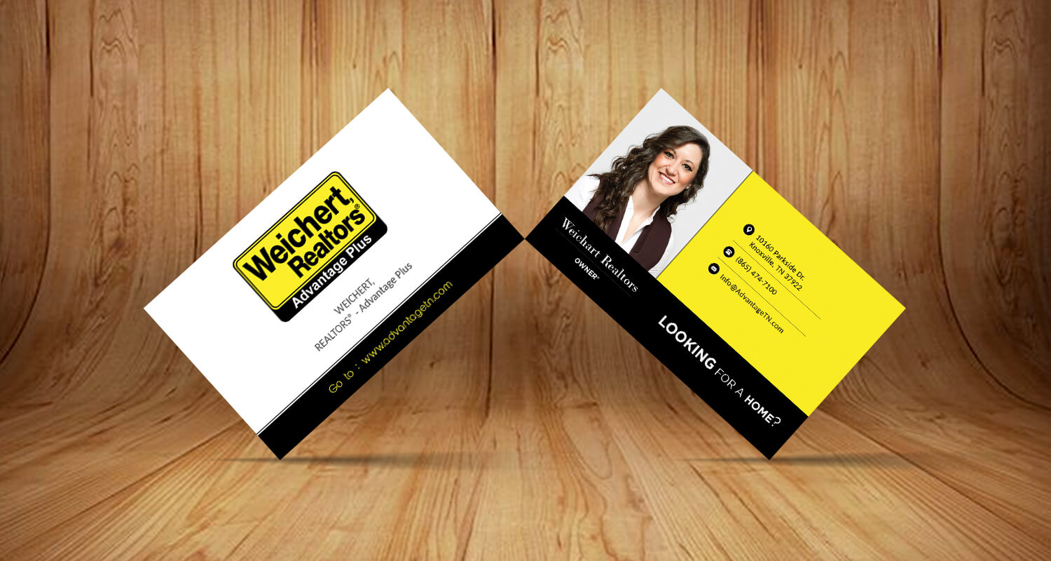 weichert RealtorsBusiness Card – Web Graphic Designs