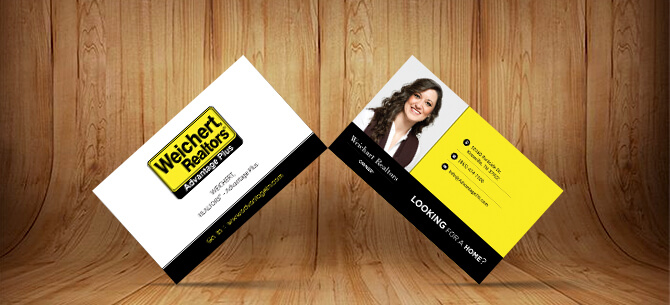 weichert RealtorsBusiness Card