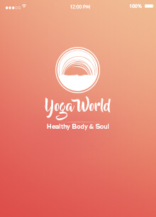 Yoga world Moblie App