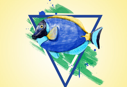 Fish T-shirt Design